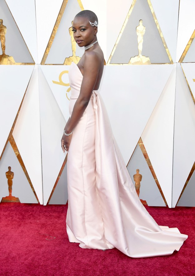 And Danai Gurira SLAYED with the whole force of the Dora Milaje.