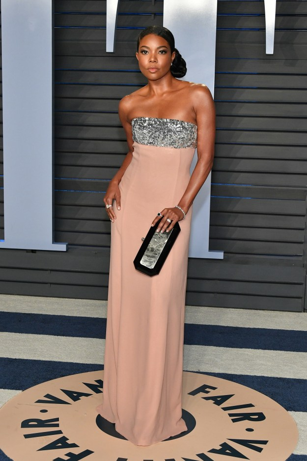 Because I'm only best friends with Gabrielle Union in my head, I'm glad she invited me to witness her Vanity Fair Oscar party experience...along with the rest of her 9.6 million followers.