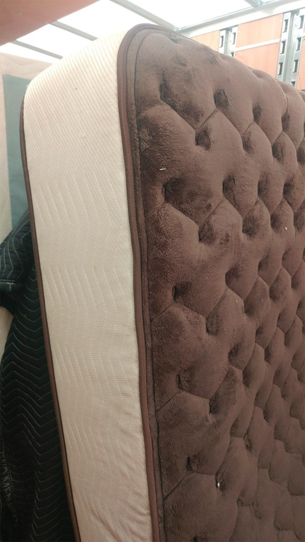 This mattress that looks like a giant ice cream sandwich.