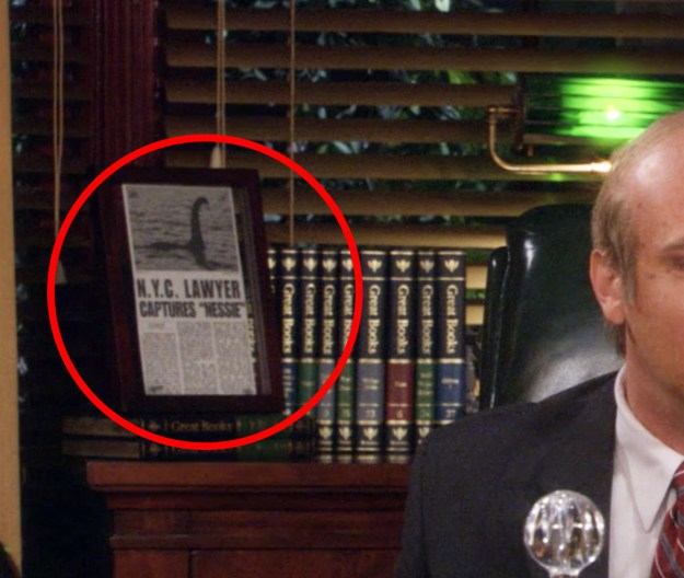 In a flash-forward on How I Met Your Mother, you can see a newspaper clipping behind Marshall implying that he eventually captured the Loch Ness monster.