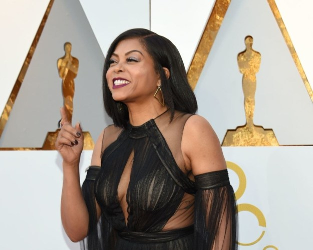 You probably already know by now that last night it was the Oscars, and one of the many stars in attendance was Taraji P. Henson.