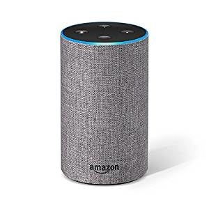 This is the Amazon Alexa. It is a technological marvel, mostly because you can basically just have a chat with it and it'll talk back, which is more than most men do but alas, I digress.