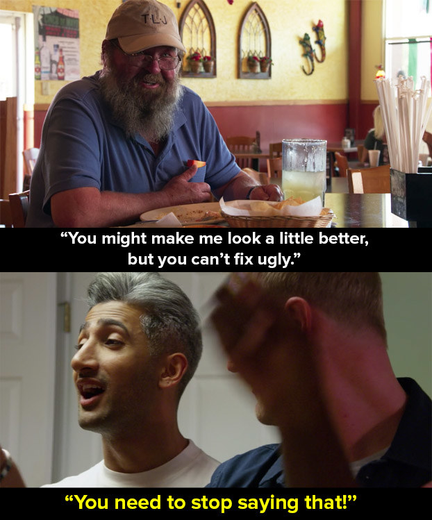 Queer Eye has many exceptional episodes, but one that really got people talking was very the first, which consisted of Tom from Kentucky (and his ex-wife Abby). Oh the FEELS.