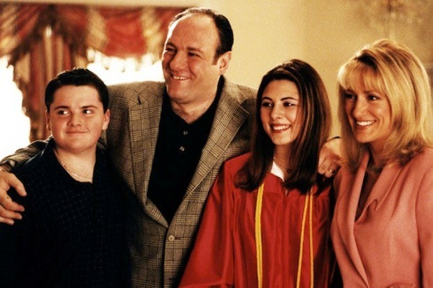 The six-season television series focused on Tony Soprano (played by the late James Gandolfini), his family, and his role as a leader in the DiMeo crime family.