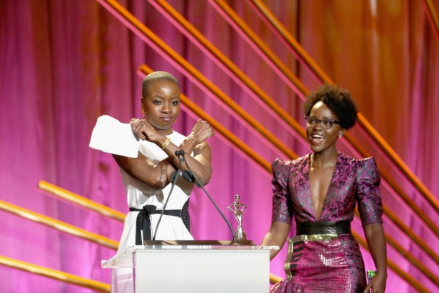 And then, when she channeled Okoye and empowered an entire room of strong women: