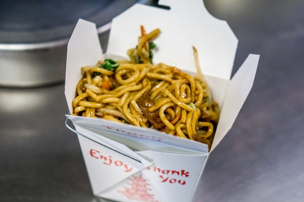 Cold Chinese food.