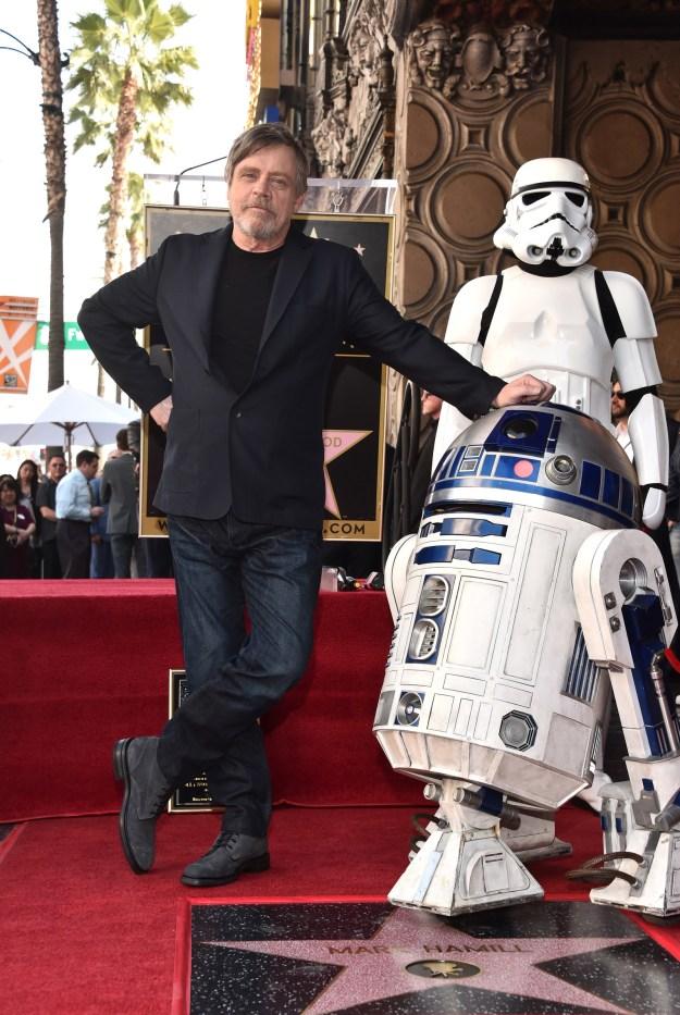 ...R2-D2 (um, where is C3-PO?)...