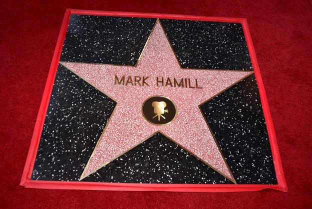 Well, that all changed today when Mark was honored with his very own star — which, appropriately enough, is located in front of the Disney-owned El Capitan Theatre.