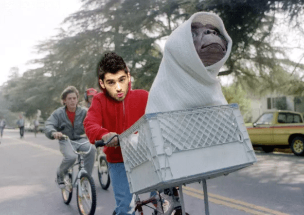 When Zayn Malik had an E.T. experience — aka he revealed that an alien told him to leave One Direction in a dream: