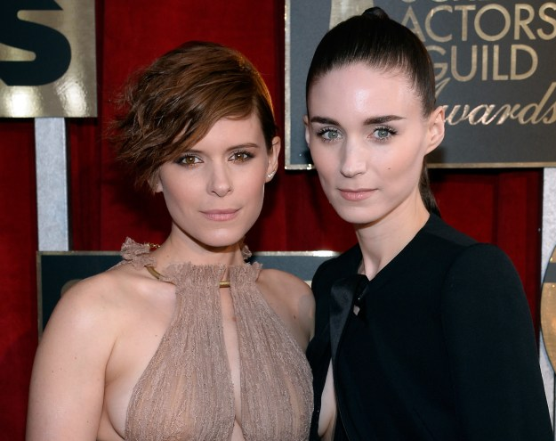 Kate and Rooney Mara's family founded the Pittsburgh Steelers AND the New York Giants.