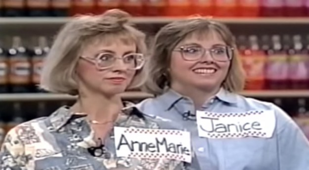 3) Most importantly, Blake made a Supermarket Sweep reference!!! AnneMarie and Janice ARE SHOOK: