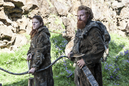 Certain instruments are associated with different characters, and perhaps the most unexpected is the instrument associated with the Wildlings: the didgeridoo.
