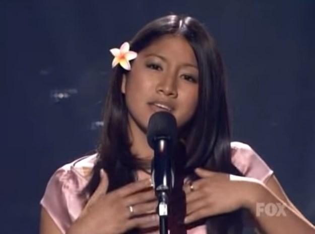 Jasmine Trias — American Idol, Season 3