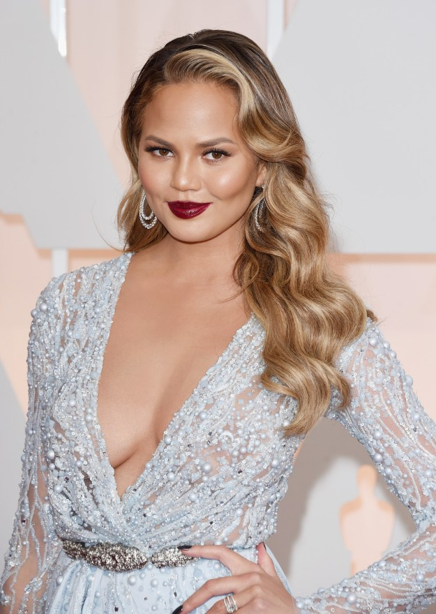 Well, there's one person who def didn't make the invite list — Chrissy Teigen.