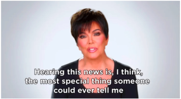 That was, until she met Tristan. In fact, when Khloé announced her pregnancy, Kris Jenner's reaction pretty much said it all.