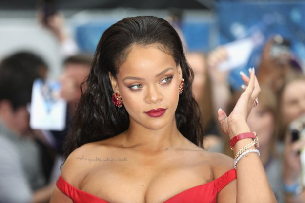 """The letter took a personal turn when Adele said that whenever she's met Rihanna, """"she's been the most gracious, loyal and funny goofball of an icon"""", and that her glow leaves you """"dazed for a few minutes after""""."""