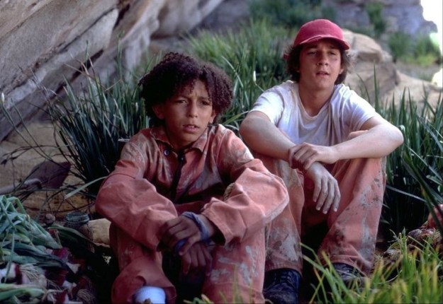 And if you noticed in the film, then-14-year-old Khleo wore his sleeves and pant legs cuffed because the coveralls were too big for him. SOOO, technically he could have grown into them.