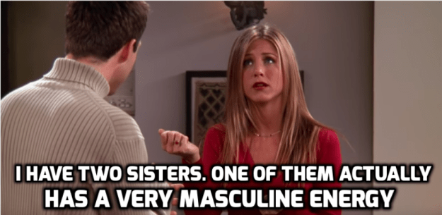 Everything about Rachel's sisters.
