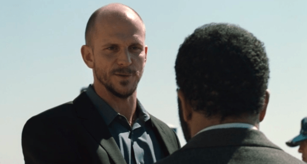 One of those new faces is Karl Strand — Head of Operations for Delos — played by Gustaf Skarsgård.