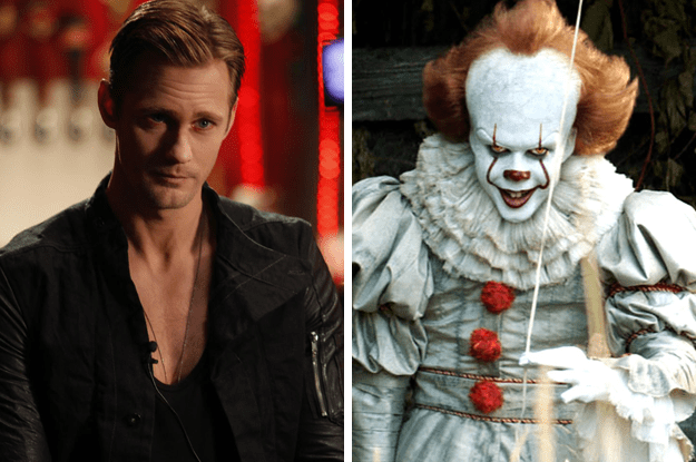 His brothers are Alexander and Bill — best known perhaps as Eric from True Blood and Pennywise from It, respectively.