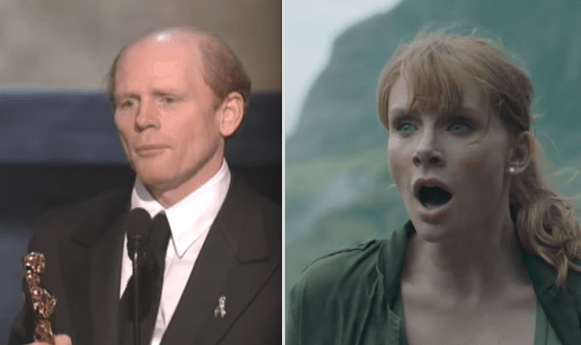 Ron Howard is Bryce Dallas Howard's father: