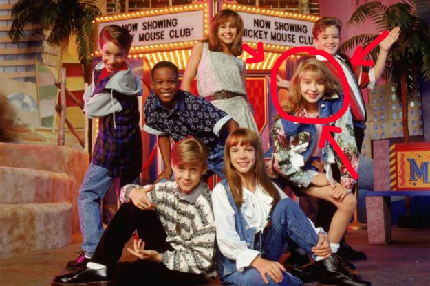 You probably also know that Christina started her career in the Mickey Mouse Club, alongside some other pretty famous faces.