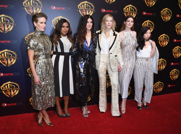 Here's a truly beautiful pic of part of the already iconic Ocean's 8 cast: