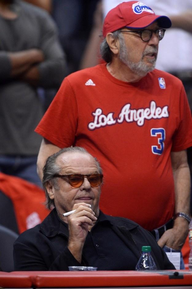 Jack Nicholson --> also a vape queen.