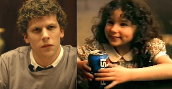 Jesse Eisenberg and Hallie Eisenberg are siblings: