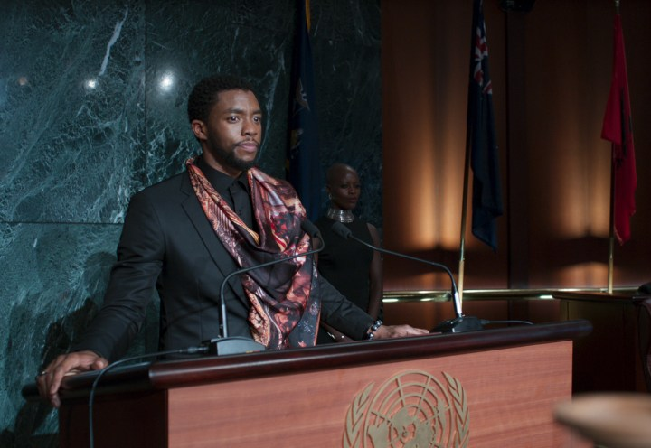 One big moment in Black Panther connected deeply with the core theme of Infinity War.
