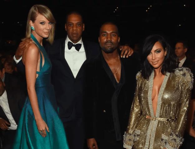 Kanye West vs Taylor Swift part one, 2016.