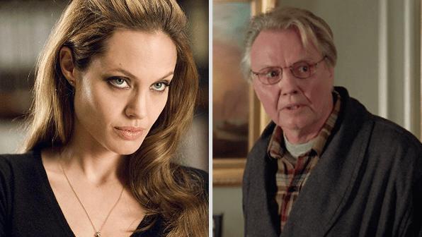 Angelina Jolie is Jon Voight's daughter: