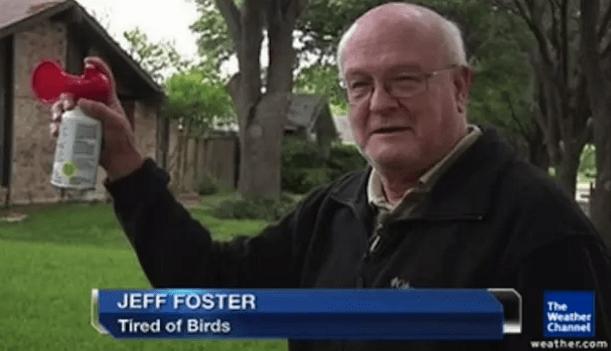 A bird-hater: