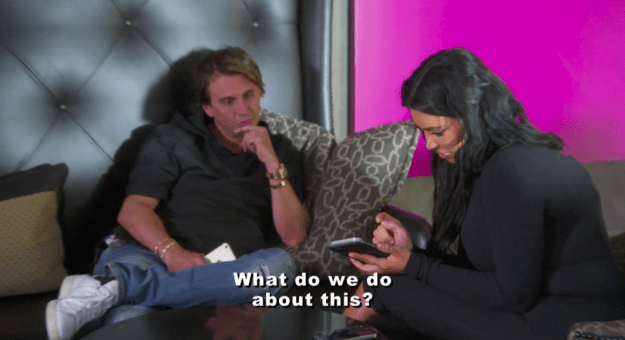 Kylie turned to Kim for advice on how to handle the situation.