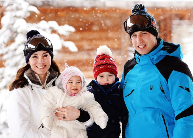 18. The royal family announced Catherine was pregnant in December of 2012. She had been admitted to the hospital with Hyperemesis Gravidarum, which causes severe morning sickness.