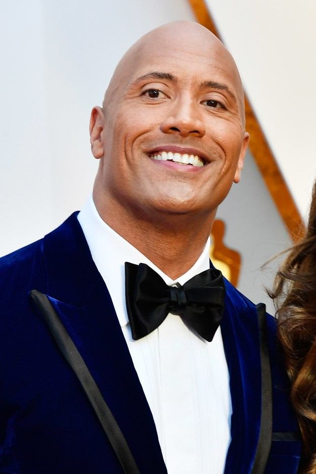 """So, this is Dwayne """"The Rock"""" Johnson. He's a damn near perfect human."""