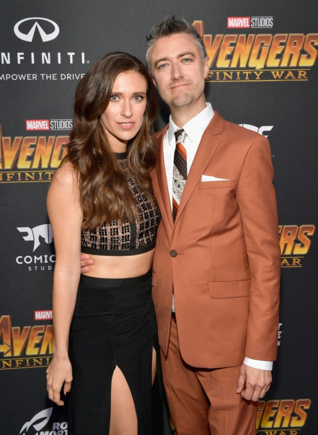 Finally, just last week at the Avengers: Infinity War premiere, he attended alongside Natasha Halevi and had the nerve to show up looking like this: