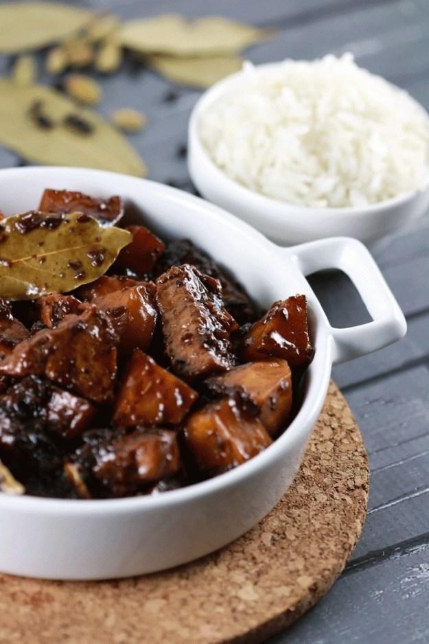 Pork Adobo and Rice