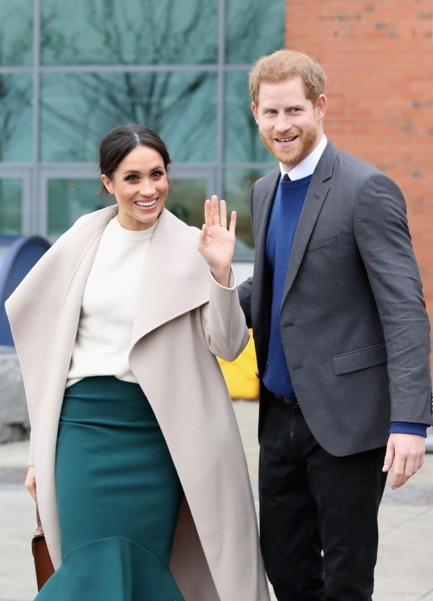 Idk if you've heard, but Meghan Markle — famous actress from Suits — will be marrying Prince Harry, the cuter Prince of Wales.