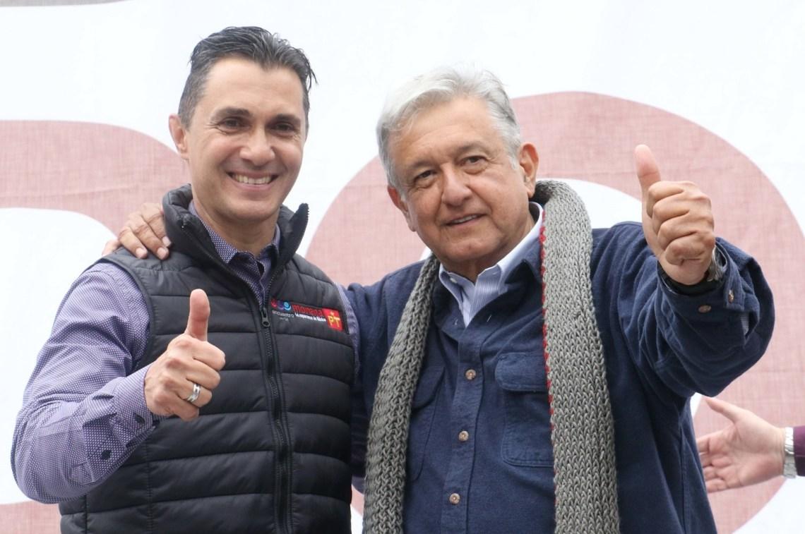 """En las canchas del futbol mexicano, este portero era conocido como """"La Barbie"""". Además, actualmente es el presidente estatal del Partido Encuentro Social (PES) en Querétaro."""