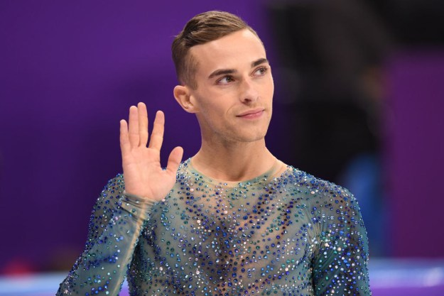 The same can be said for Adam Rippon, who was obviously the star of the winter Olympics.