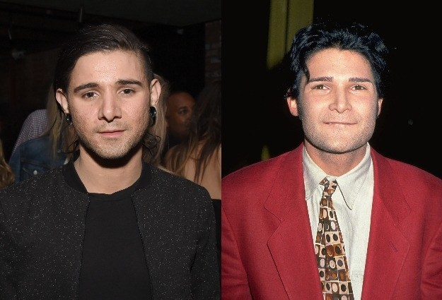 Today, we'll be examining the freaky resemblance between electronic DJ Skrillex, and '80s superstar, Corey Feldman.