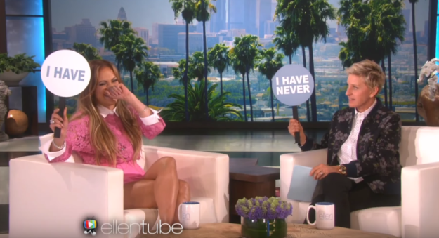 Jennifer Lopez has snuck a guy into her house while her kids slept: