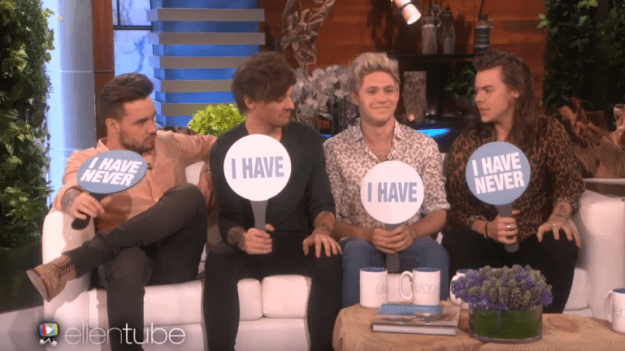 And Louis Tomlinson and Niall Horan used their other bandmates' toothbrushes without telling: