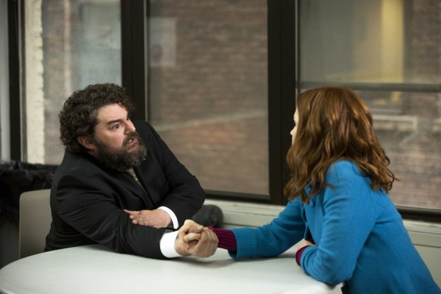 """Bobby Moynihan appears in the third and fifth episodes as Fran Dodd, a men's rights activist and founder of """"C.F.Bro,"""" the Innocence Broject."""