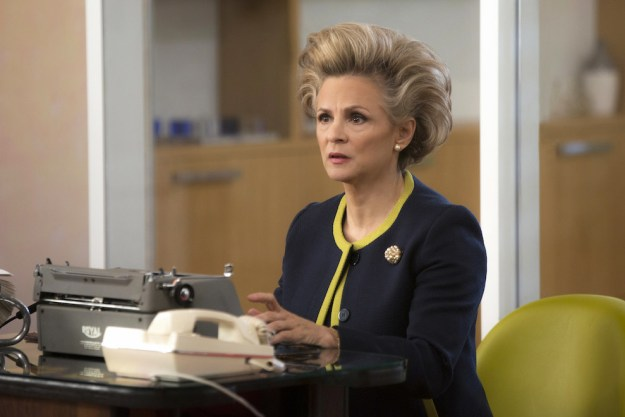 Amy Sedaris comes back as Mimi Kanasis, Jacqueline's divorcee friend who's a bit unhinged. In Episode 6, Mimi jumps at the opportunity to be Jacqueline's assistant for her new, but underfunded, talent agency.