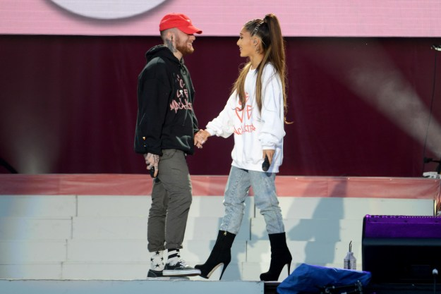 """The couple went public with their relationship back in 2016, three years after collaborating on Ariana's hit, """"The Way."""""""
