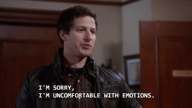 And feelings: