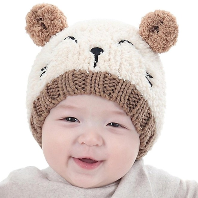 """Promising review: """"Fits my almost 1-year-old perfectly. It's cute, super soft, thick, and will be warm on her."""" —Holly HobbsGet it from Amazon for $4.75 (available in four colors)."""