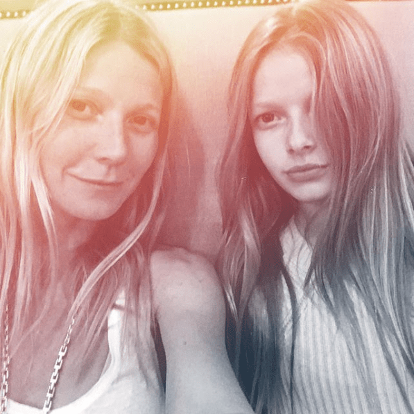 Apple is the eldest of Paltrow and Martin's two children. They also have a son, Moses.